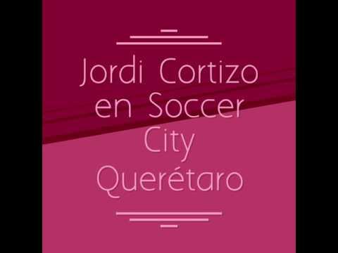 Jordi Cortizo en Soccer City Querétaro Curso de Verano Diablos 2017.