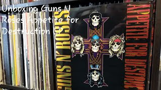 "Watch me break the seal on this amazing release by guns n' roses. ""appetite for destruction"" is one of greatest rock albums all time. album holds..."