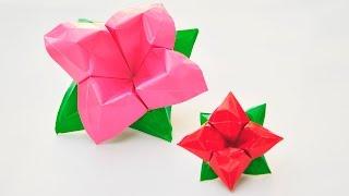 Оригами | Цветок из бумаги | Как сделать цветы своими руками(Оригами Цветок из бумаги. В этом уроке я покажу, как сделать такие Цветы своими руками. Вам понадобится:..., 2016-08-30T06:12:03.000Z)