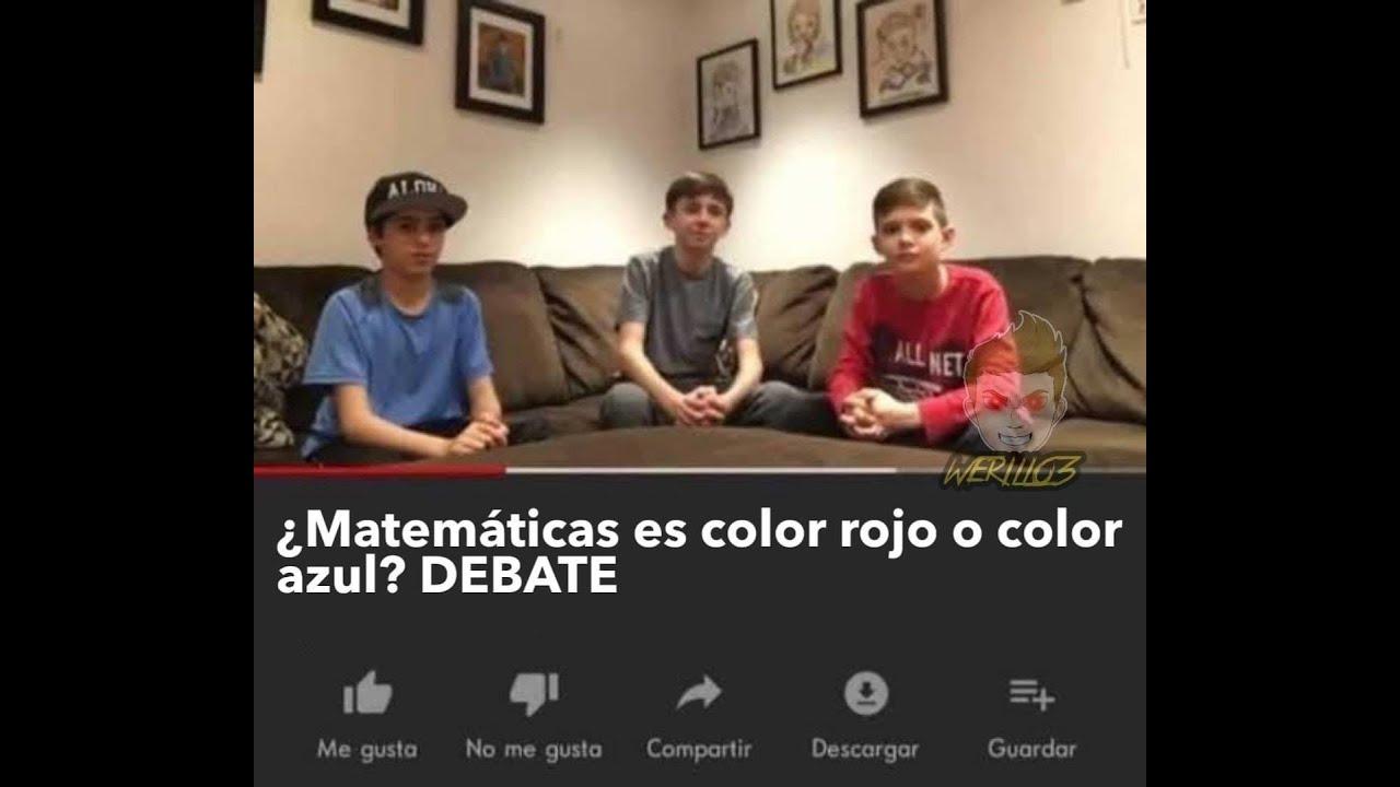 Jewish's Bizarre Adventure #2: ¿Matemáticas es color Rojo o Azul? DEBATE.
