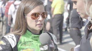 Post-Qualifying Run  Danica Patrick Talks Indy 500 Qualifying