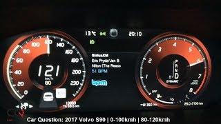 2017 Volvo S90 Inscription T6 AWD |  0-100kmh / 0-60mph | Review Part 6/7