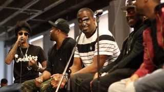 Native Sessions: Producer Panel @MikeKalombo @JustBlaze @SonnyDigital @iamMarkByrd @TheFr3shmen