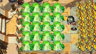 Plants vs Zombies 2 Hack Ancient Egypt - Bonk Choy vs All Zombies