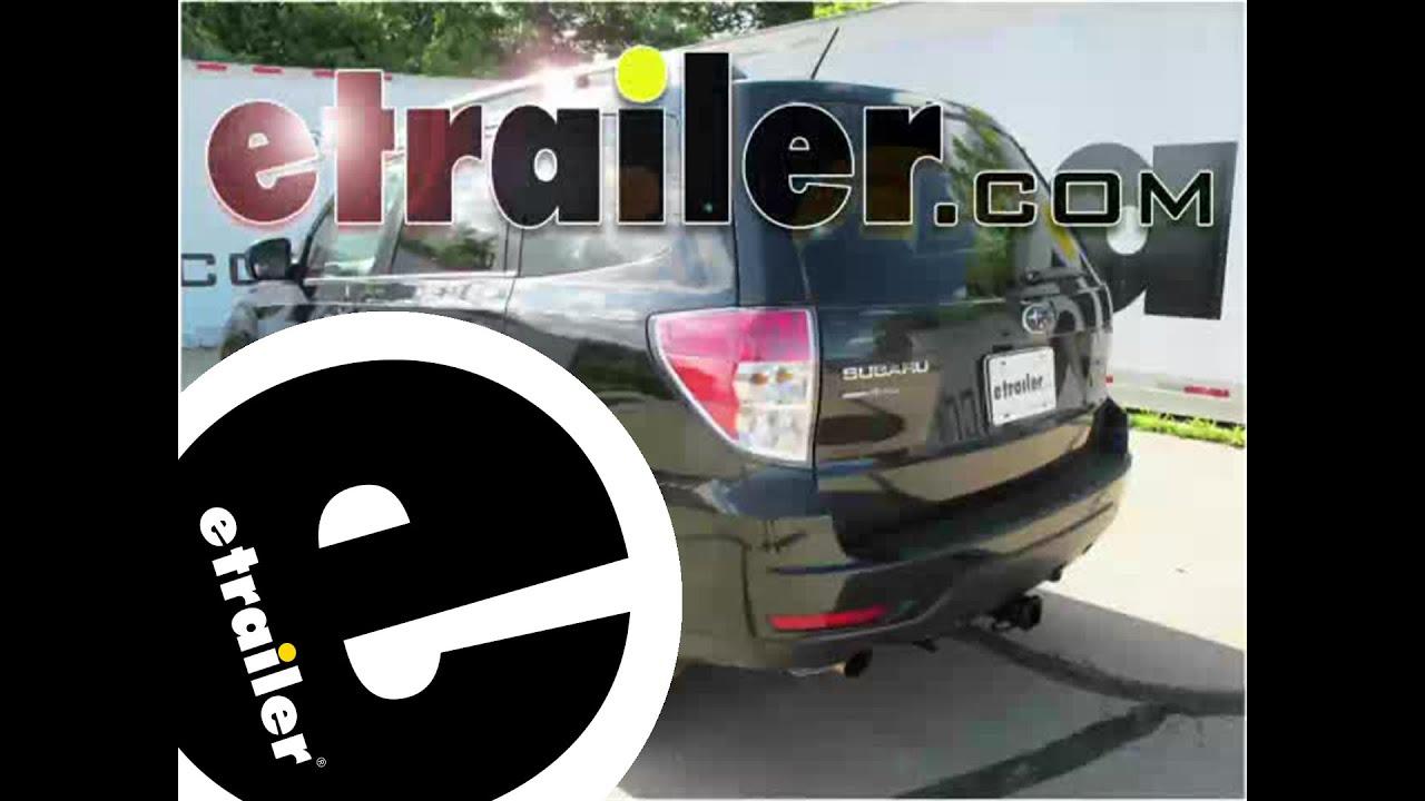 2012 subaru forester trailer hitch