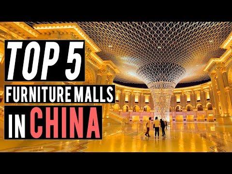 Top 5 Furniture Malls in China, Foshan.