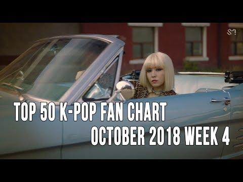 Top 50 K-Pop Songs Chart - October 2018 Week 4 Fan Chart