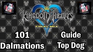 Kingdom Hearts Final Mix Guide: How To Collect All 101 Dalmatians Guide Top Dog!