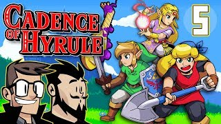 Cadence of Hyrule Let's Play: Oh No Wizroboe - PART 5 - TenMoreMinutes