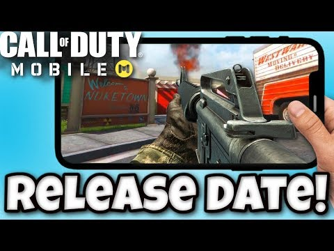 *NEW* Call Of Duty Mobile Release Date!! - Global Release Date For Call Of Duty Mobile Gameplay!