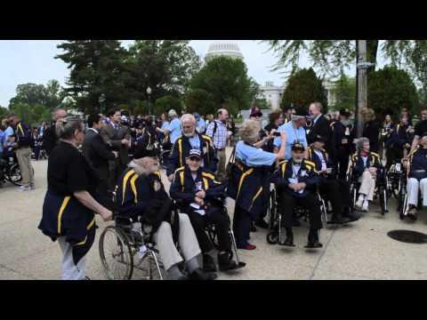 Alaska Delegation Greets Alaskan World War II Veterans in Washington, D.C.
