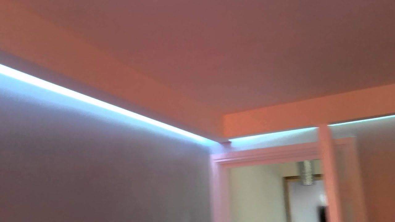 Led Strip Lights In Coving