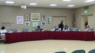 MCBOE Special Called Meeting Aug. 3, 2021