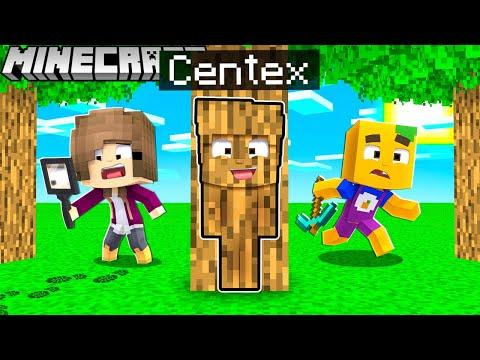 Ich VERSTECKE mich als CAMOFLAGE vor meinen FREUNDEN in Minecraft!