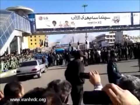 IHRDC Exclusive Video of Public Hanging of Three Men in Azadi Square in Kermanshah, Iran