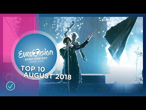 TOP 10: Most watched in August 2018 - Eurovision Song Contest