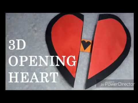 How to Make - Paper Heart with Secret Message | DIY | Valentine Greeting Card