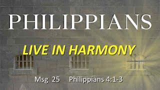 Philippians: Live In Harmony