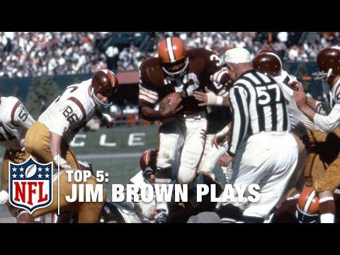 Top 5 Jim Brown Plays | NFL