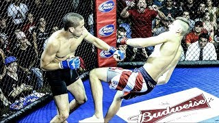One of FaZe Sensei's most viewed videos: FAZE SENSEI 1ST MMA FIGHT! (1ST ROUND K.O.)
