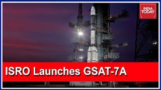 South Super Fast   ISRO Launches GSAT-7A Communication Satellite Into Space