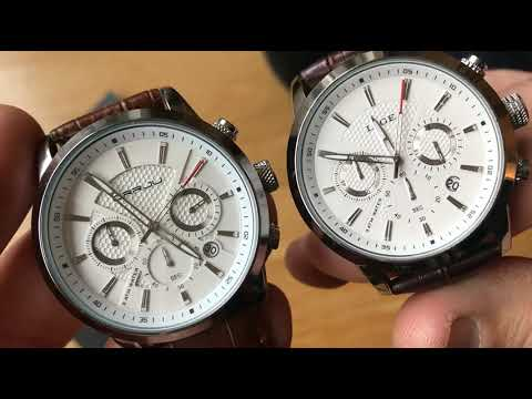 Lige And Crrju Watch Comparison