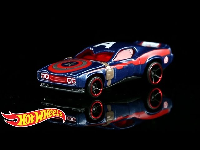 Hot Wheels Marvel Avengers Cars Mightymega