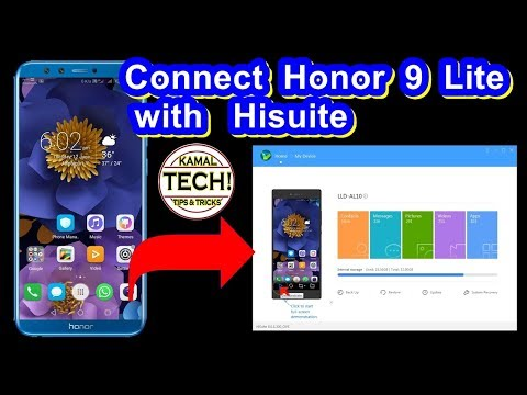 How To Connect Honor 9 Lite With Hisuite | Android Smart Device Manager?