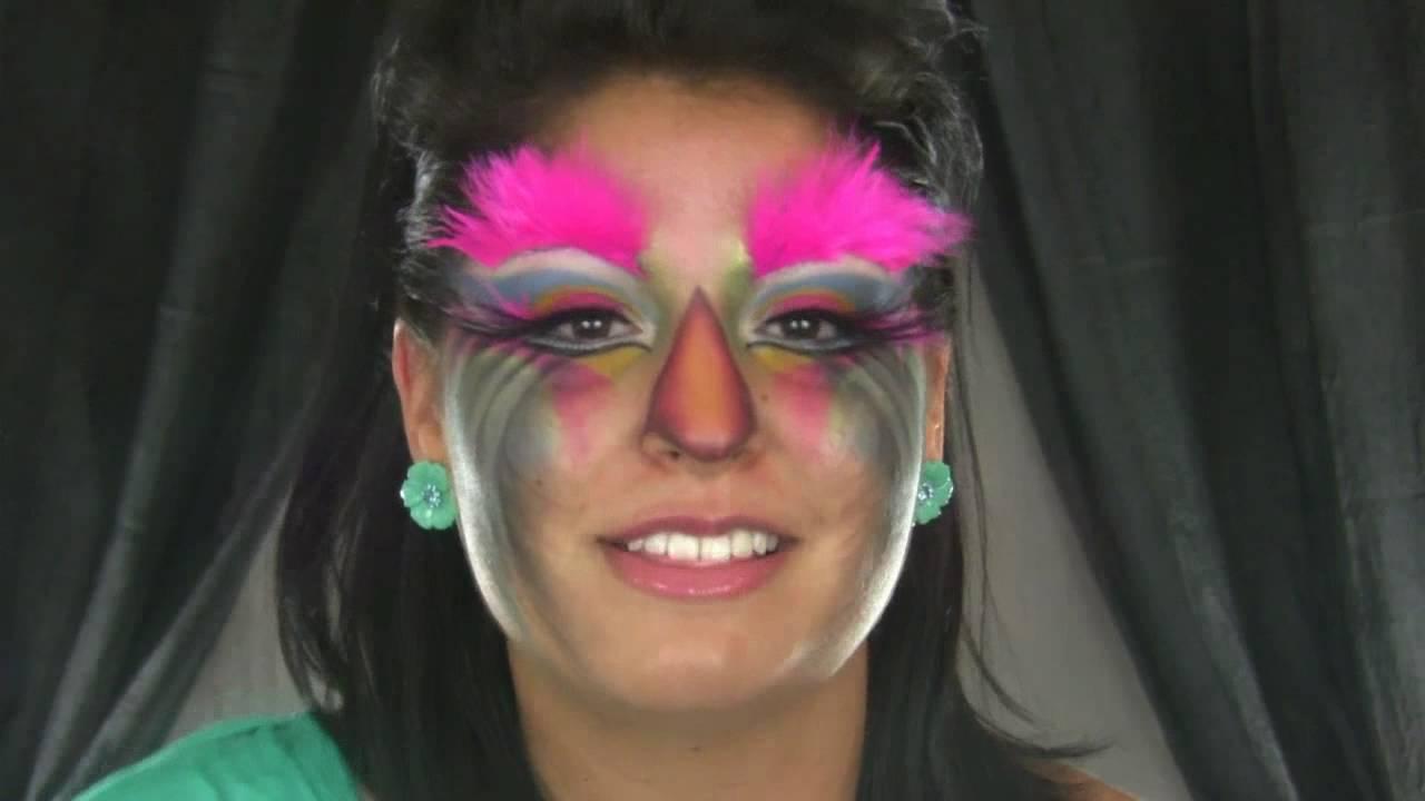 Exotic Bird Makeup Tutorial