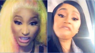 Cardi B vs Nicki Minaj Expose IG As Nasty & Evil Explained