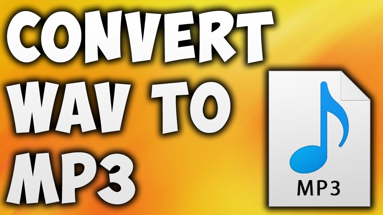 How To Convert WAV TO MP3 Online - Best WAV TO MP3 ...