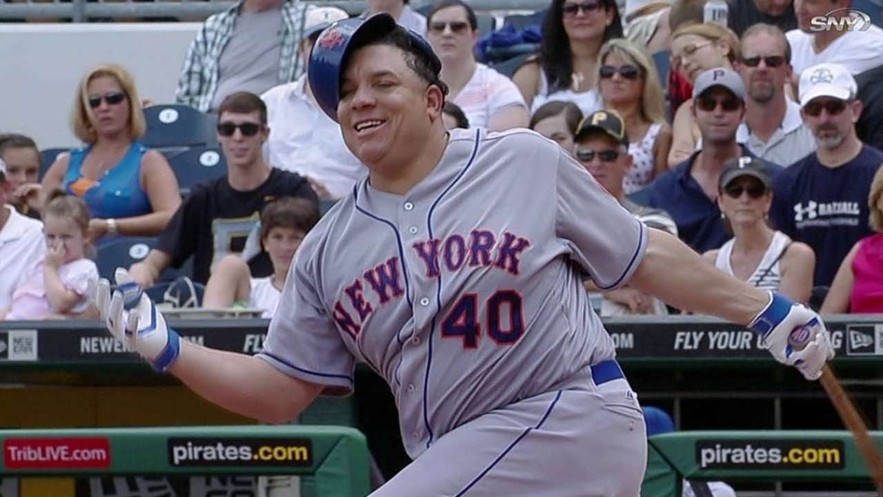 Mets Pitcher Bartolo Colon Swings Hard, Misses Pitch ...   Bartolo Colon Swing