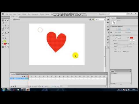 การใช้โปรแกรม Adobe Flash Professional CS6