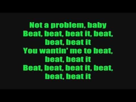 Sean Kingston Ft Chris Brown & Wiz Khalifa - Beat It Lyrics