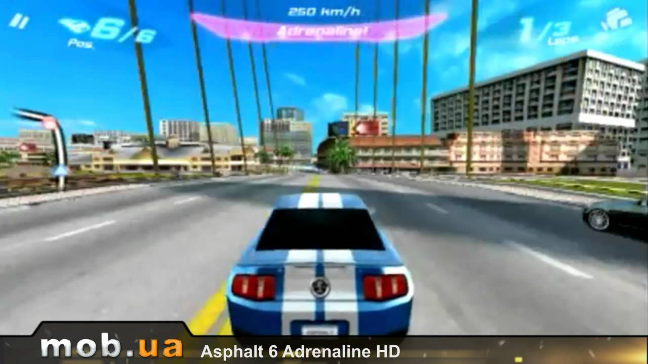 Asphalt 6 Adrenaline for Android - Download APK free
