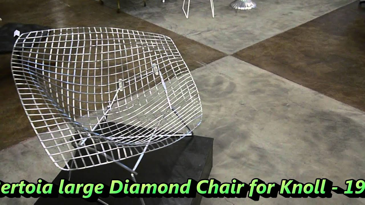 the595project Bertoia Diamond Chair