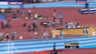 Русская зима 2015 - 400м мужчины финал Б