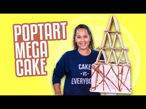 POPTART Mega Cake!! | JENGA ANYONE?? | How To Cake It