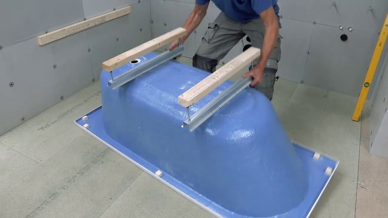 Installing an Abacus bath - full instructions - YouTube