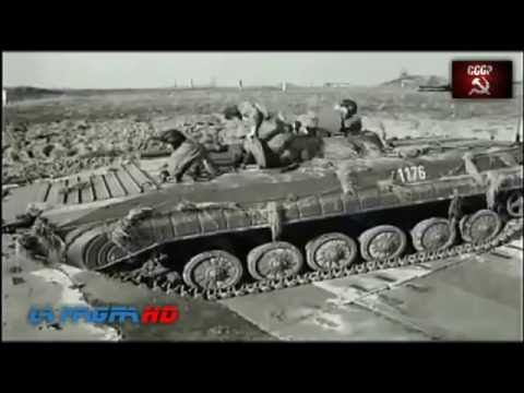 BMP-1 Soviet amphibious tracked infantry fighting vehicle