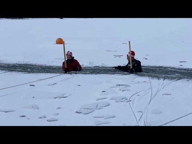 5.2.21 Isbrydning i Himmelsøen