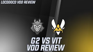 G2 vs VIT - Vitality fears away G2's options and plays an impressive game