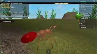 ant simulator in roblox part 1