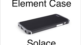 Обзор чехла Element Case Solace для iPhone 6(, 2015-04-15T19:48:06.000Z)