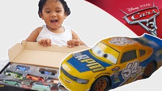 CARS 3 die cast collection | RPM Bruce Miller exclusive CARS 3 Die-Cast Dot-Com 10-Pack