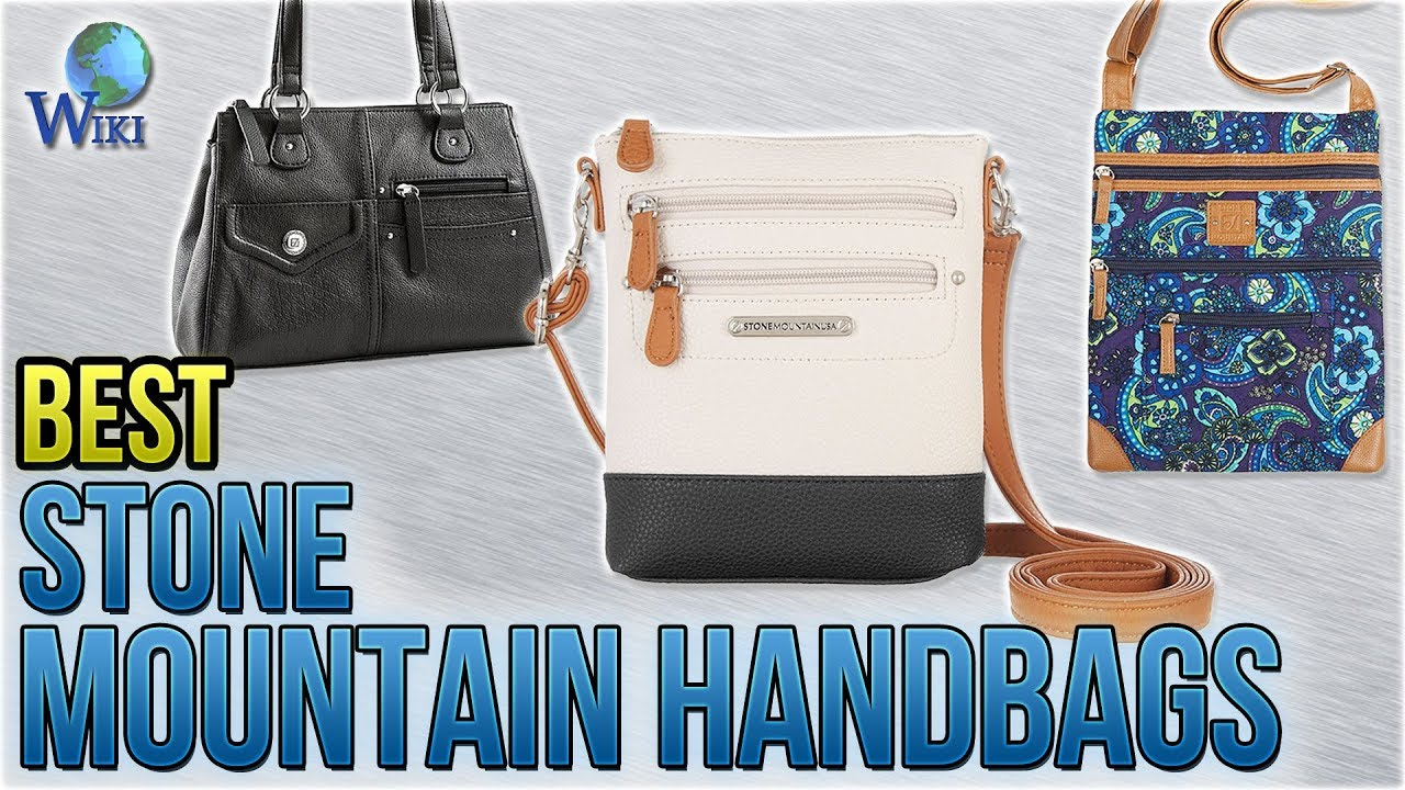 6 Best Stone Mountain Handbags 2018 Youtube