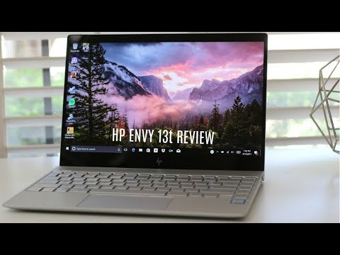 HP Envy 13t Review Late 2017 Edition