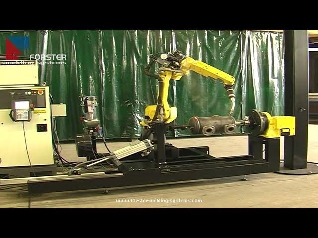 Behälter mit Roboter schweißen