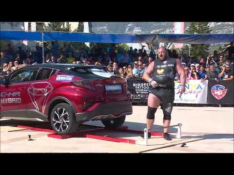 Strongman Alanya Şampiyonu Travıs Ortmayer Oldu