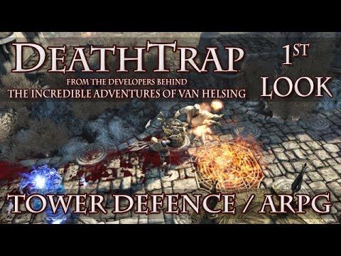 DeathTrap 1st Look - ARPG / Tower Defence Hybrid From Incredible Adventures Of Van Helsing Devs